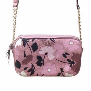 HP🎉 NWOT Kate Spade Mauve Pink Floral Crossbody